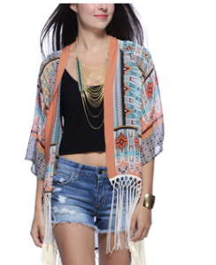 Fringe Kimono Spend